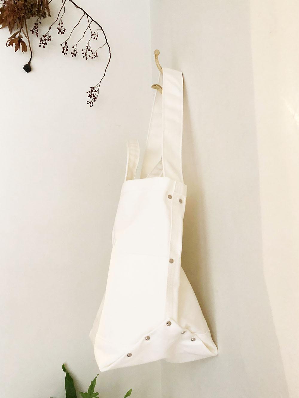 yaeca ツールバッグ cotton large white r1