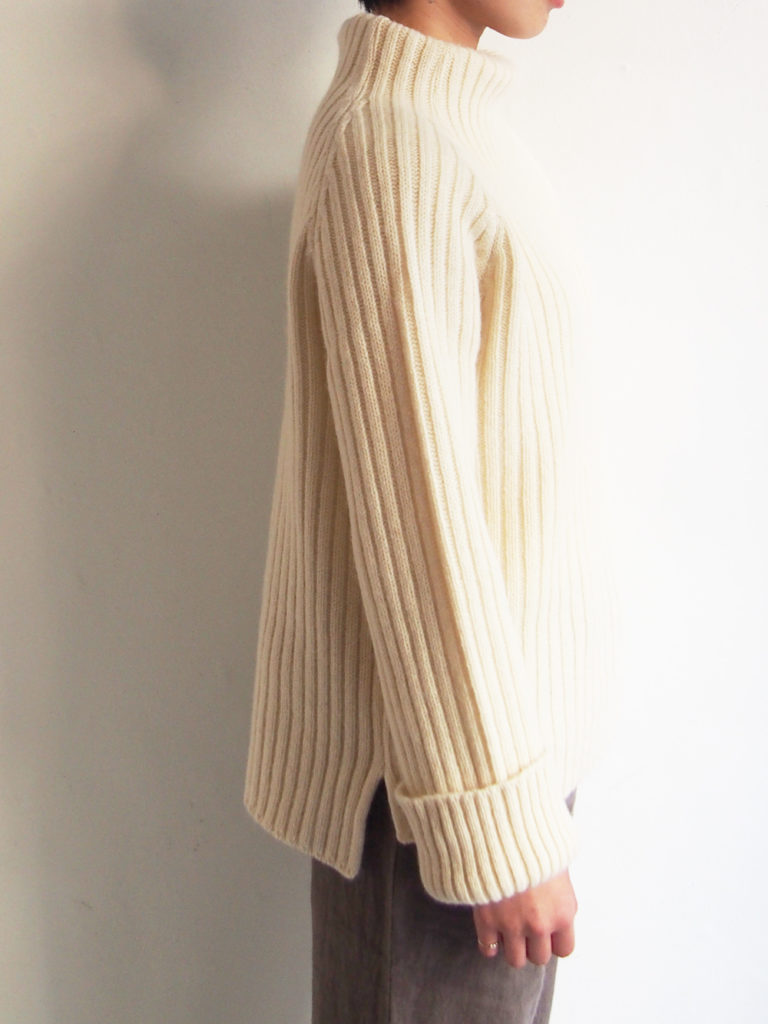 ordinary fits (WOMEN) _ RELAX KNIT / OFF
