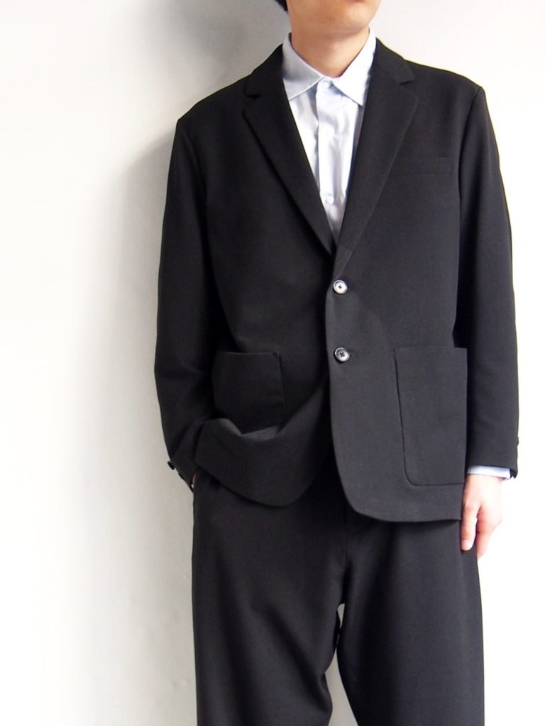 YAECA _ 2WAY 2Bジャケット / Dark Gray