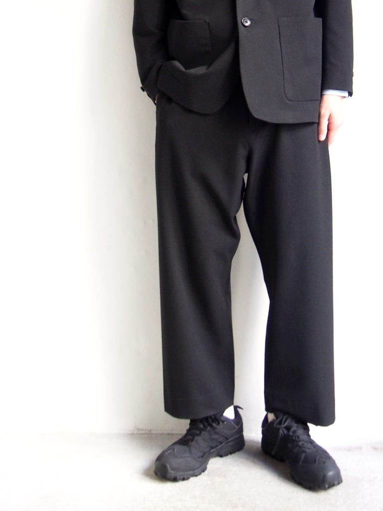 YAECA _ 2WAY 2Bジャケット セットアップパンツ / Dark Gray