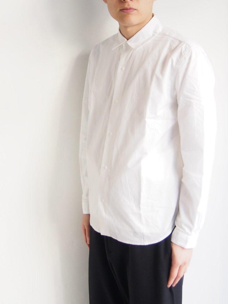 YAECA _ コンフォートリラックスシャツ / WHITE
