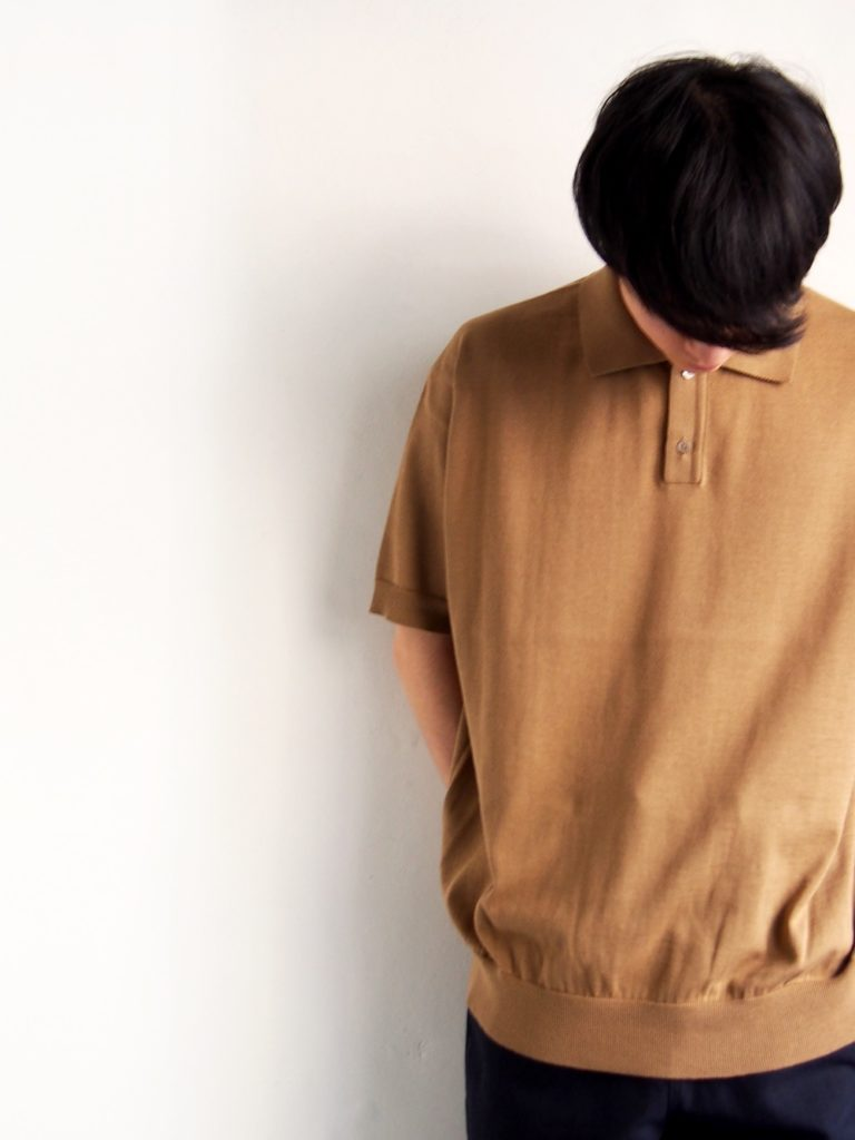 ordinary fits _ POLO KNIT / Beige