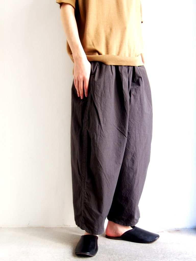 ordinary fits _ Ball Pants / Ink