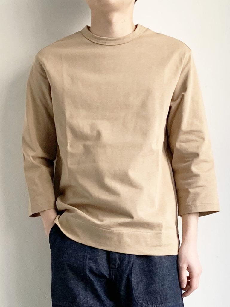 LAMOND _バスク7分 Tシャツ  / Beige
