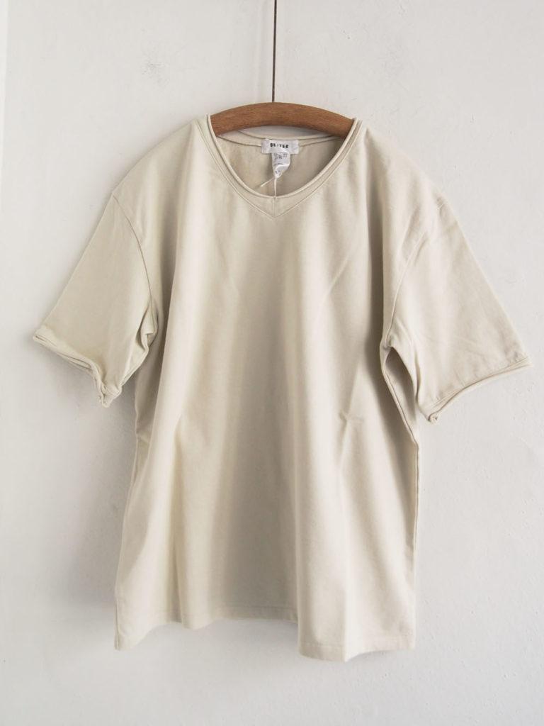BETTER (WOMEN) _ カットオフ T-shirt / Cream