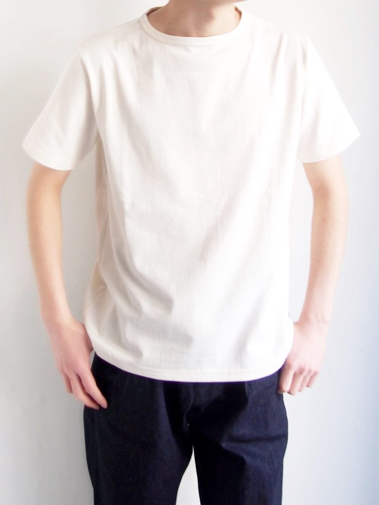 Tieasy _ NEW SUMMER KNIT CREW T / Natural