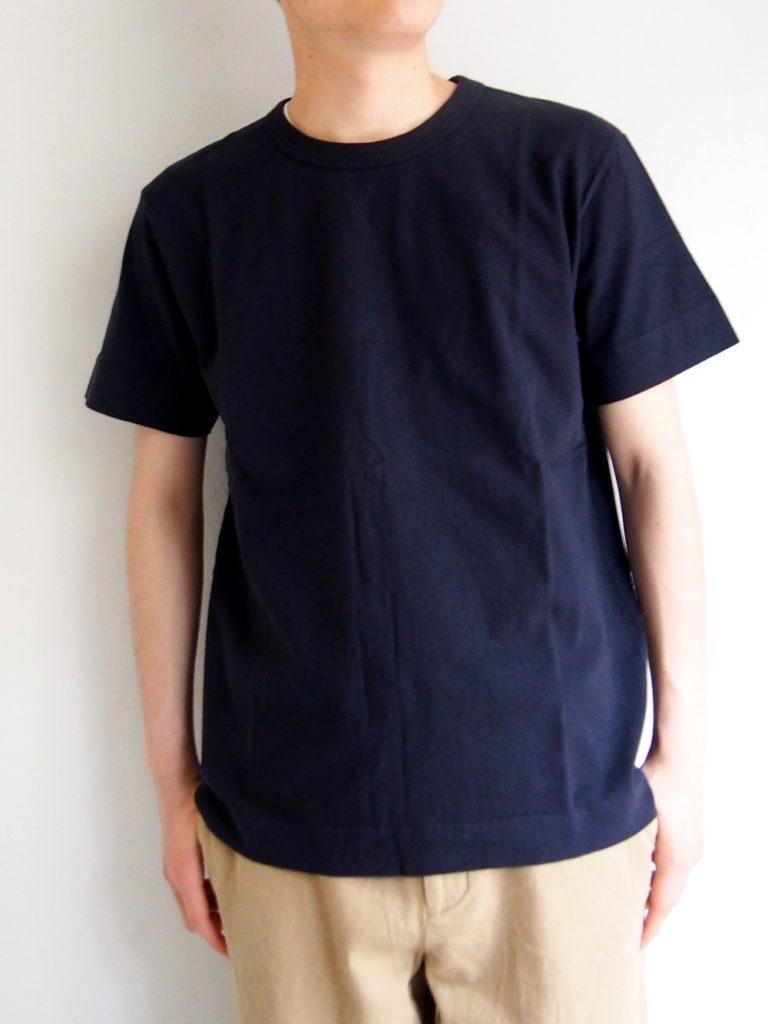 BETTER _ ラフィークルーネック Tシャツ / Navy