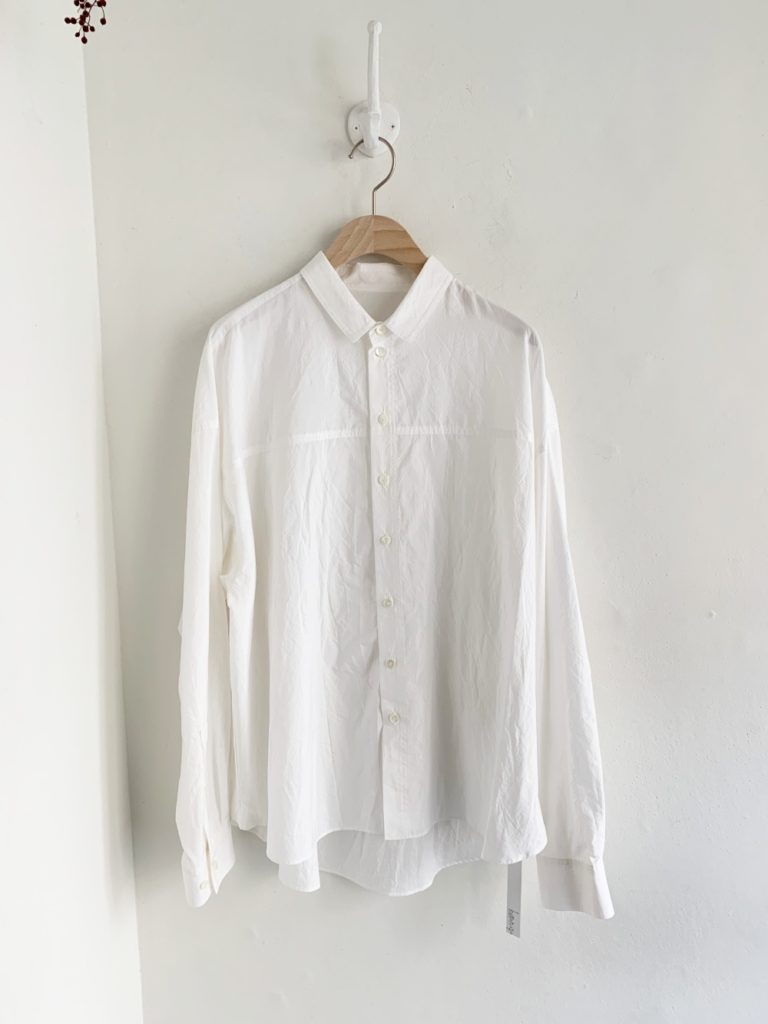 humoresque _ ロングスリーブシャツ / White