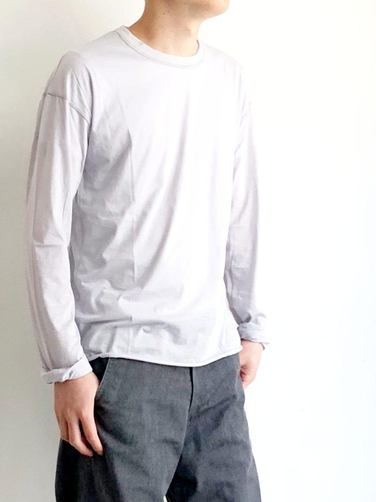 humoresque _ ロングスリーブシャツ / Gray