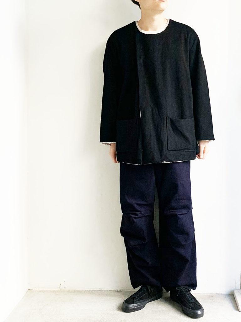 AULICO _ ウールカシミアジャケット / Black