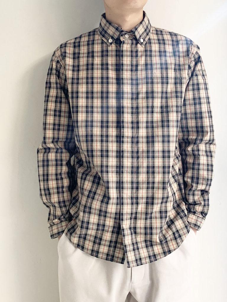 LOLO _ チェックB.Dシャツ / チェックB