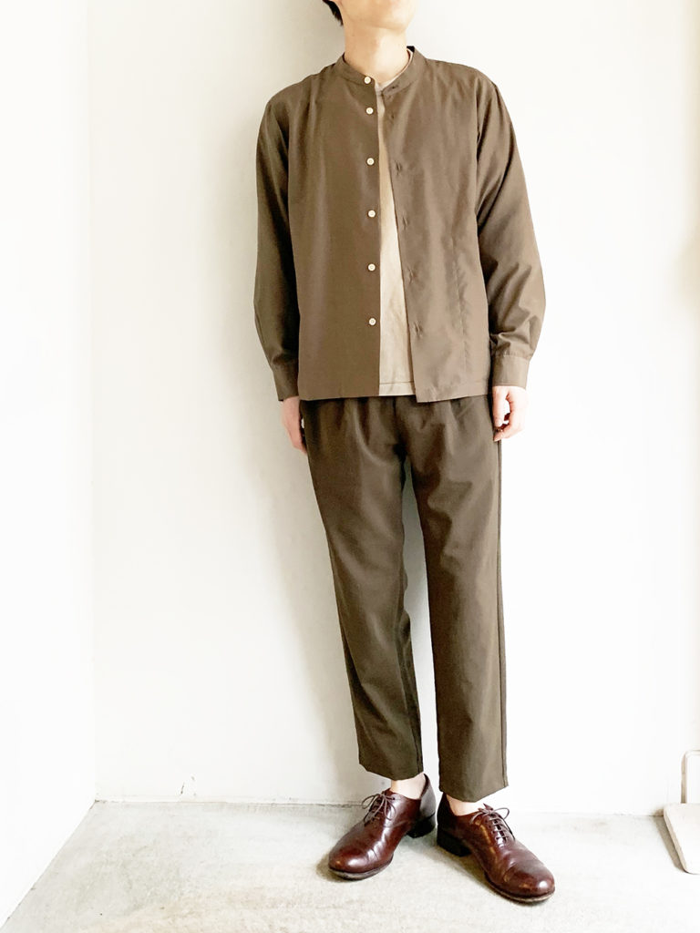 LAMOND. _  シャリパンツ / K.brown