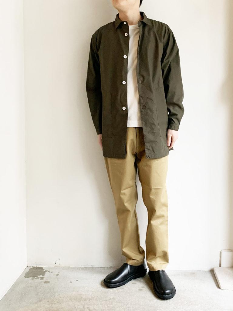 LOLO _ 30ウエザーシャツ ジャケット / Khaki