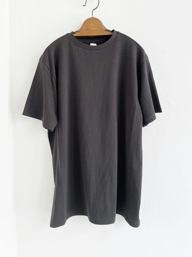 YAECA _ リラックスTシャツ 51011 / Charcoal
