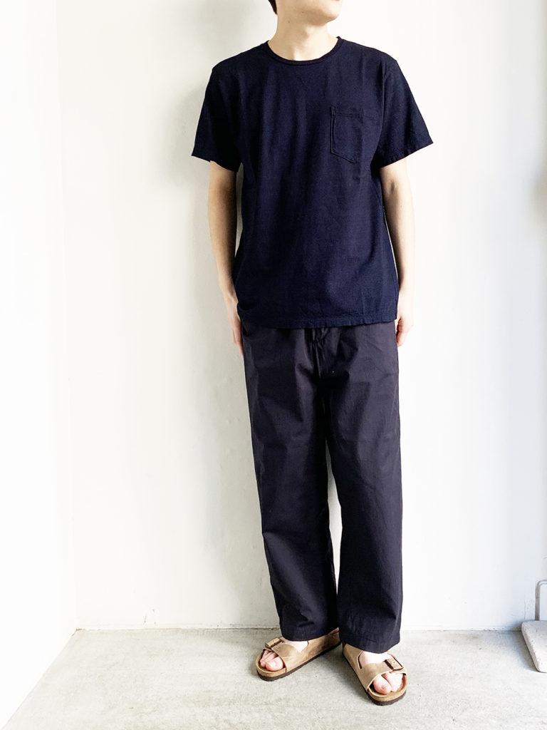 orSlow _ インディゴ  T-SHIRT / Ingigo