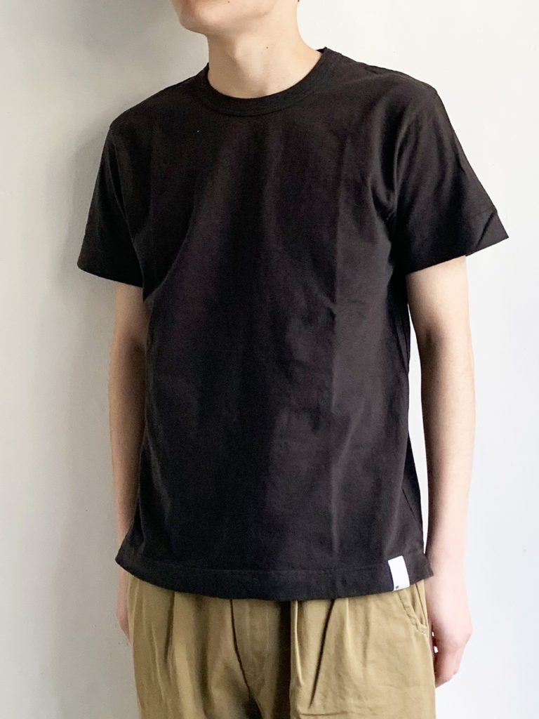 BETTER _  ミッドウェイト  S/S Tシャツ /Charcoal brown