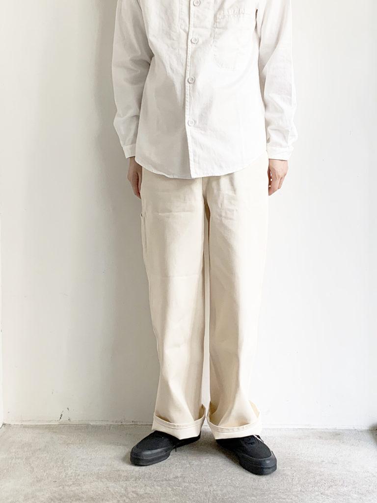 KIJI _ SHIMA ワイドストレート /Natural