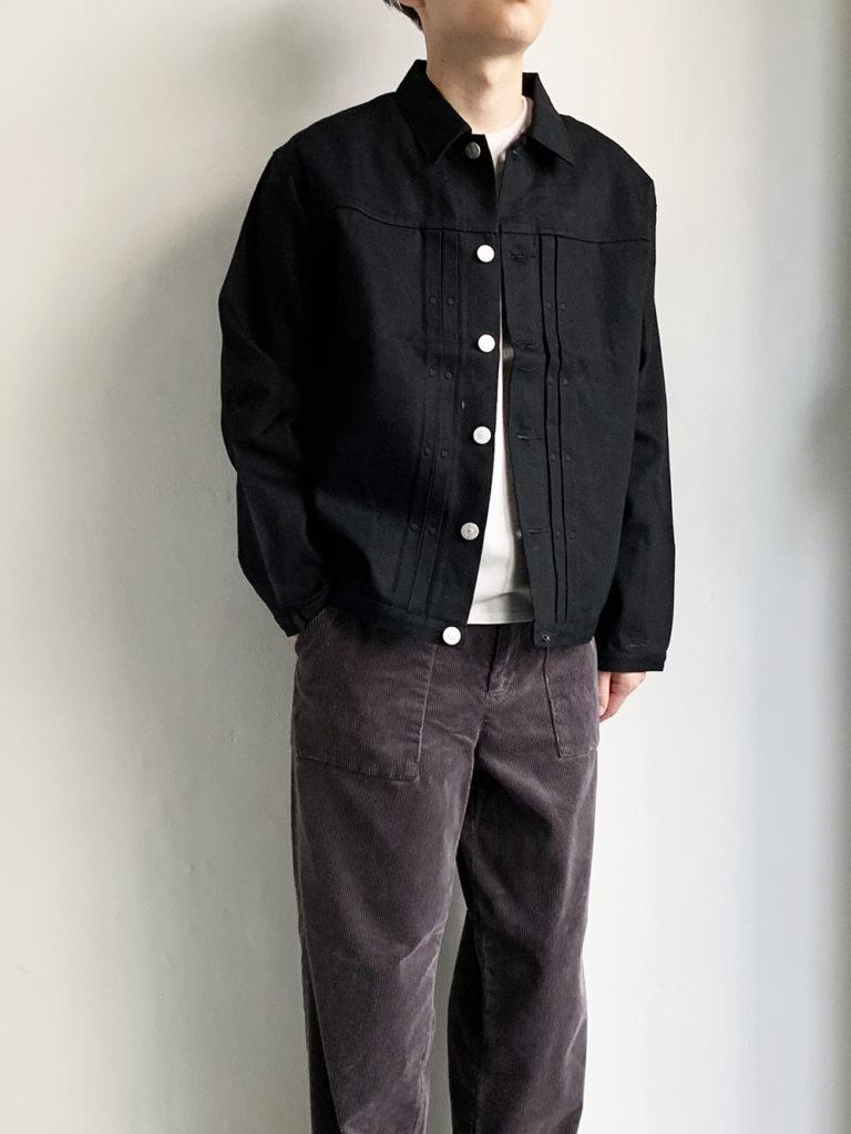 KIJI _ OUDO デニムジャケット/Black