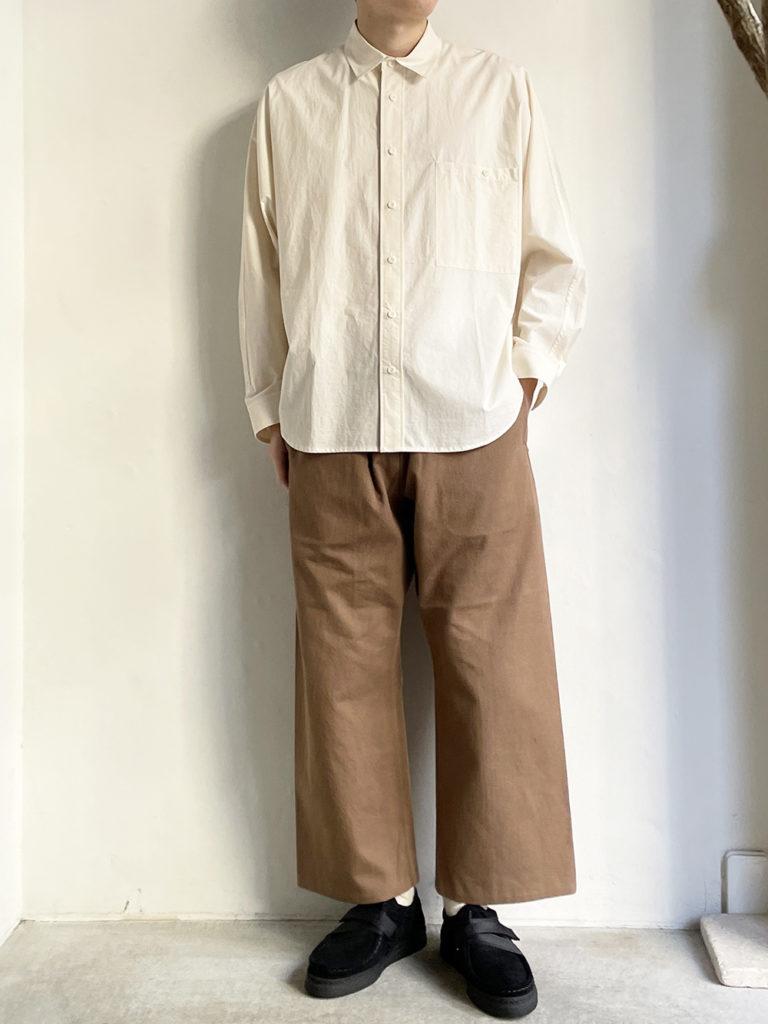 YAECA  _ イージーパンツ50654 / Brown