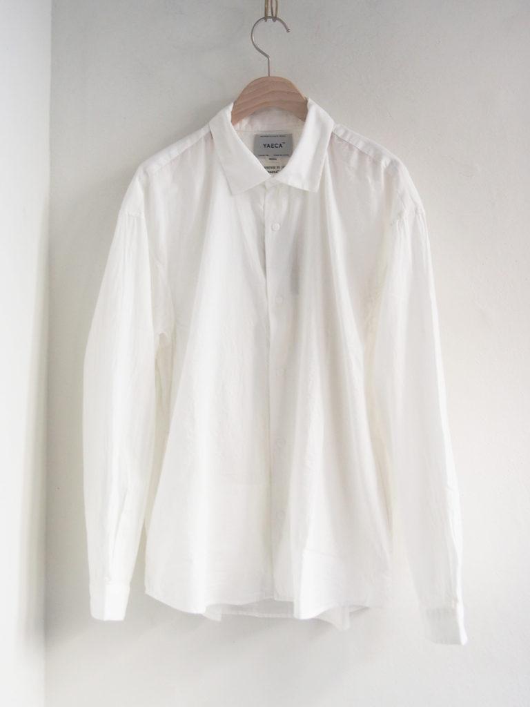 YAECA _ コンフォートシャツ エクストラワイド 10156/ White