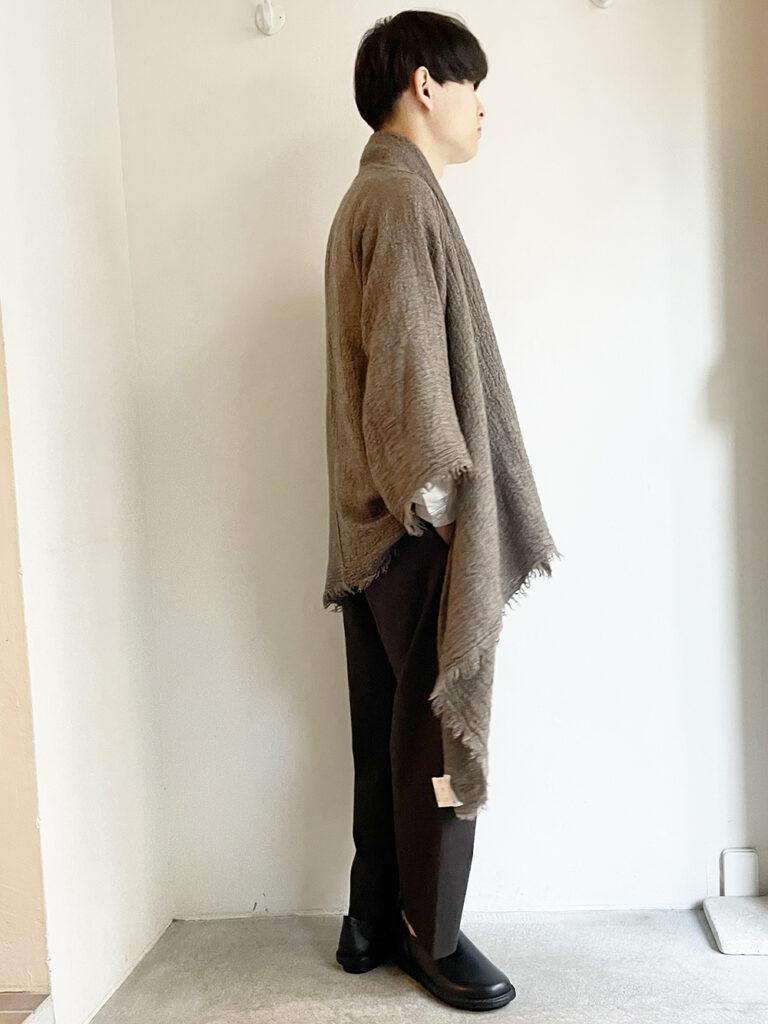 YAECA _ ポンチョ YAK 50954  / Brown
