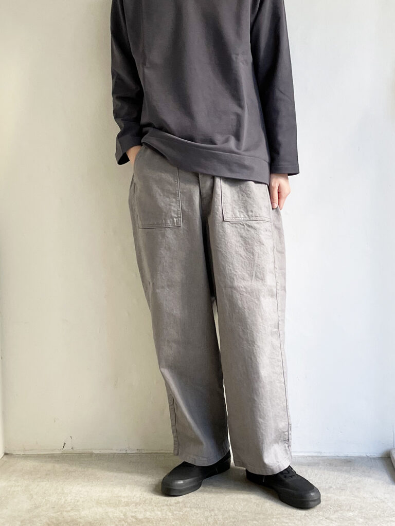 ordinary fits _ ジェームスパンツ / Gray (UNISEX)