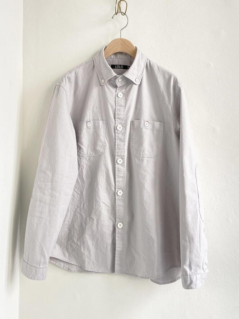 LOLO _ 新型ボタンダウンシャツ / Gray