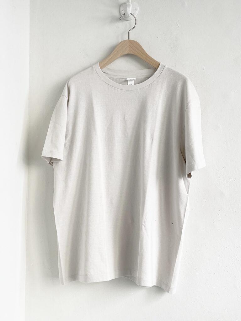 YAECA _ 丸胴クルーネックTシャツ31032 / Sage