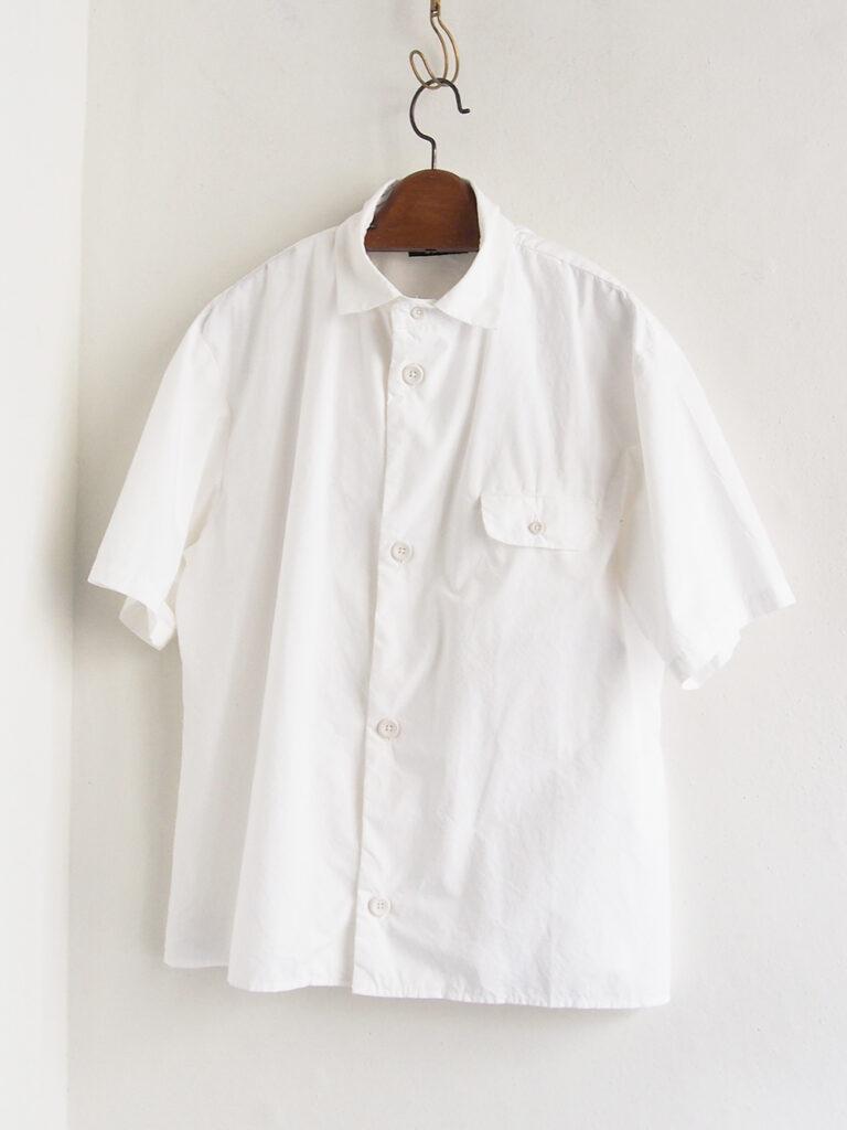 LOLO _ ステッチ無し半袖シャツ / White