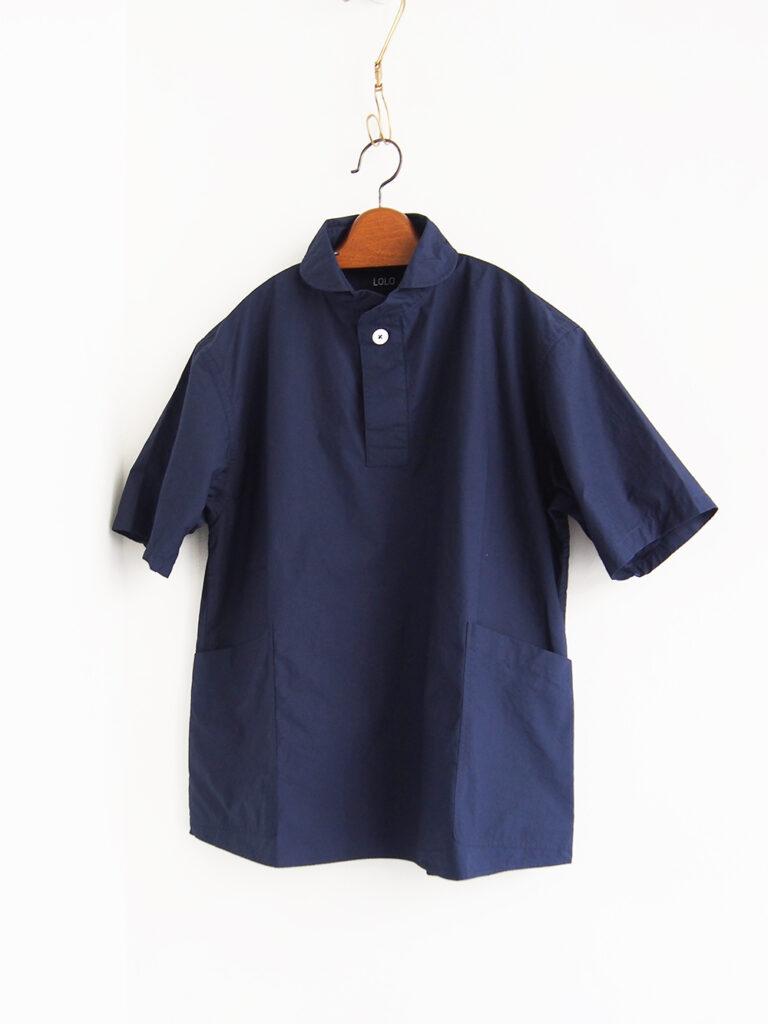 LOLO _ 半袖POシャツ / Navy