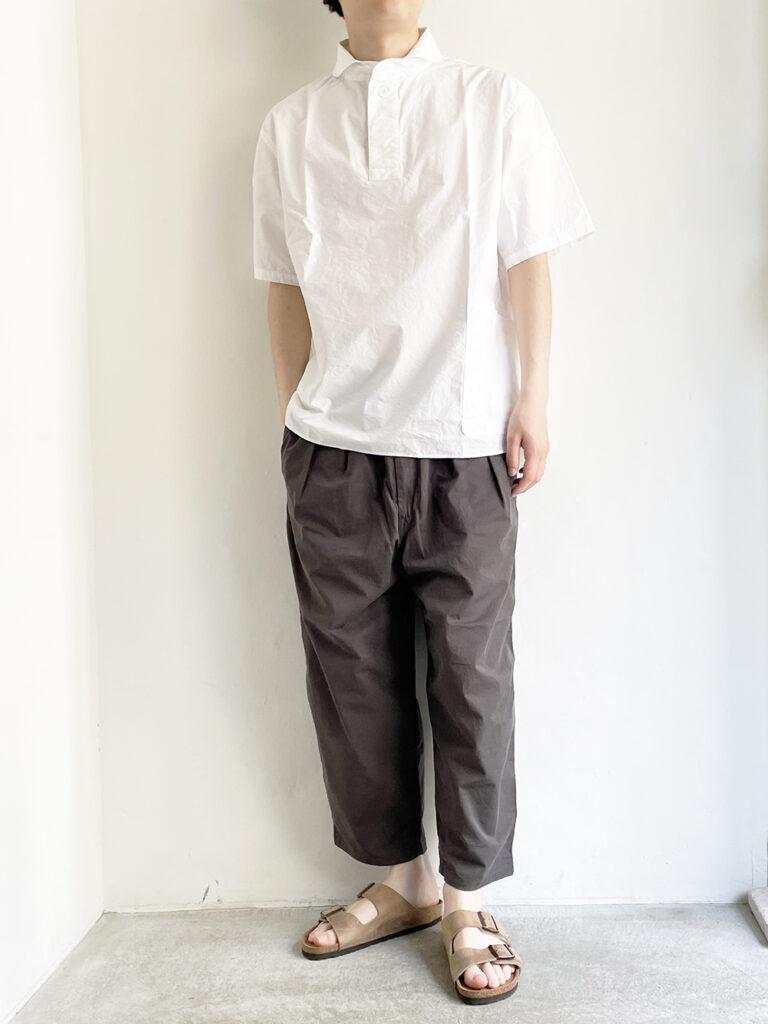 LOLO _ 半袖POシャツ / White