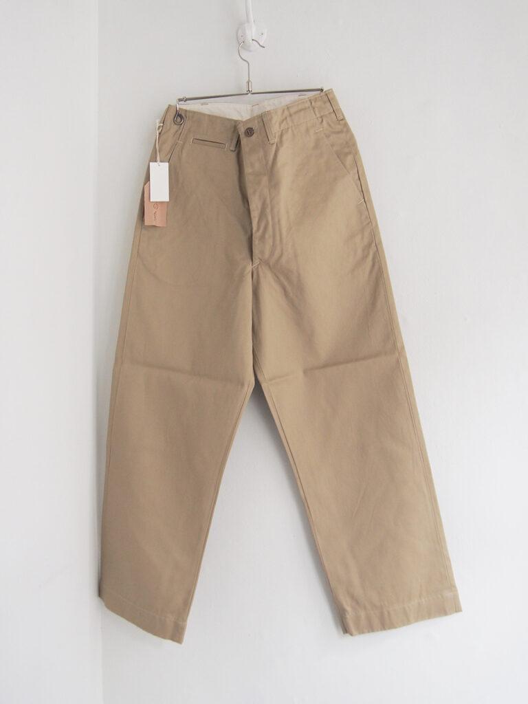 orSlow _ Vintage Fit Army Trouser (Unisex) / Khaki