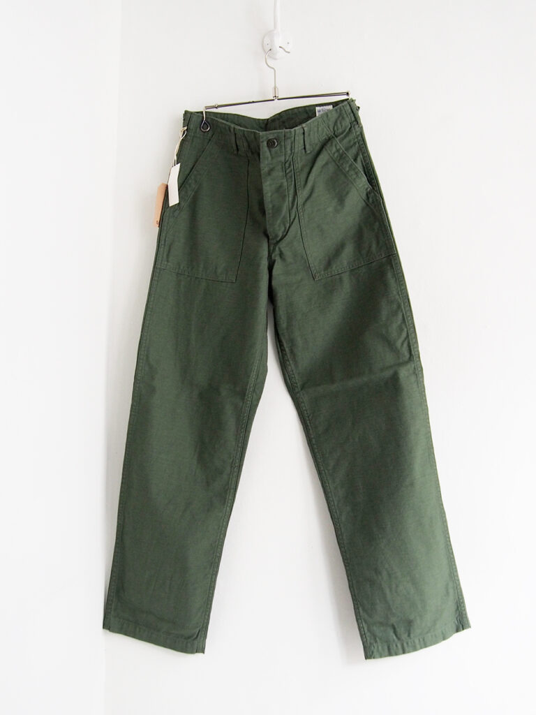 orSlow _ US ARMY FATIGUE パンツ / Green