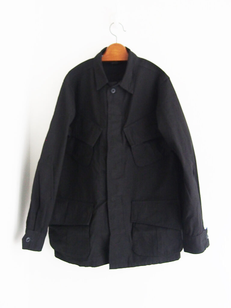 orSlow _ Us Army Tropical Jacket / Rip Stop Black
