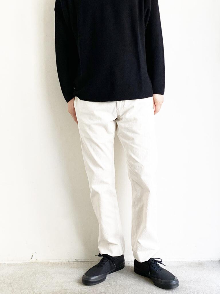 YAECA _ チノナロー 11613/ White
