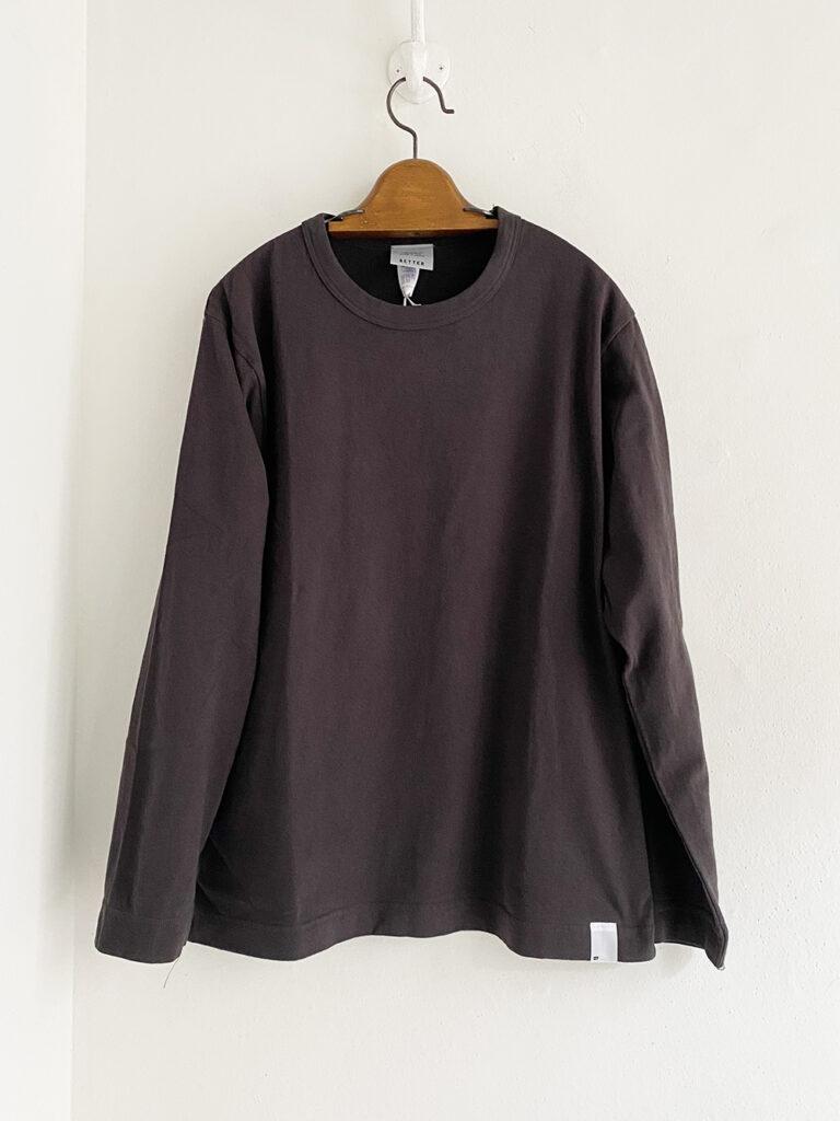 BETTER _ ラフィー クルーネックTシャツ / C.brown