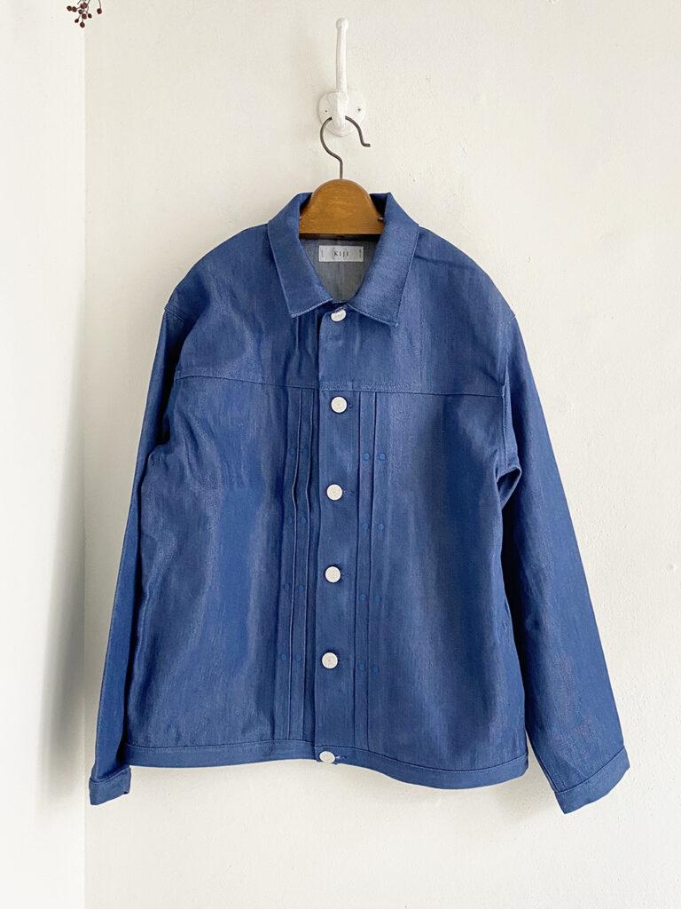 KIJI _ OUDO デニムジャケット/L.blue