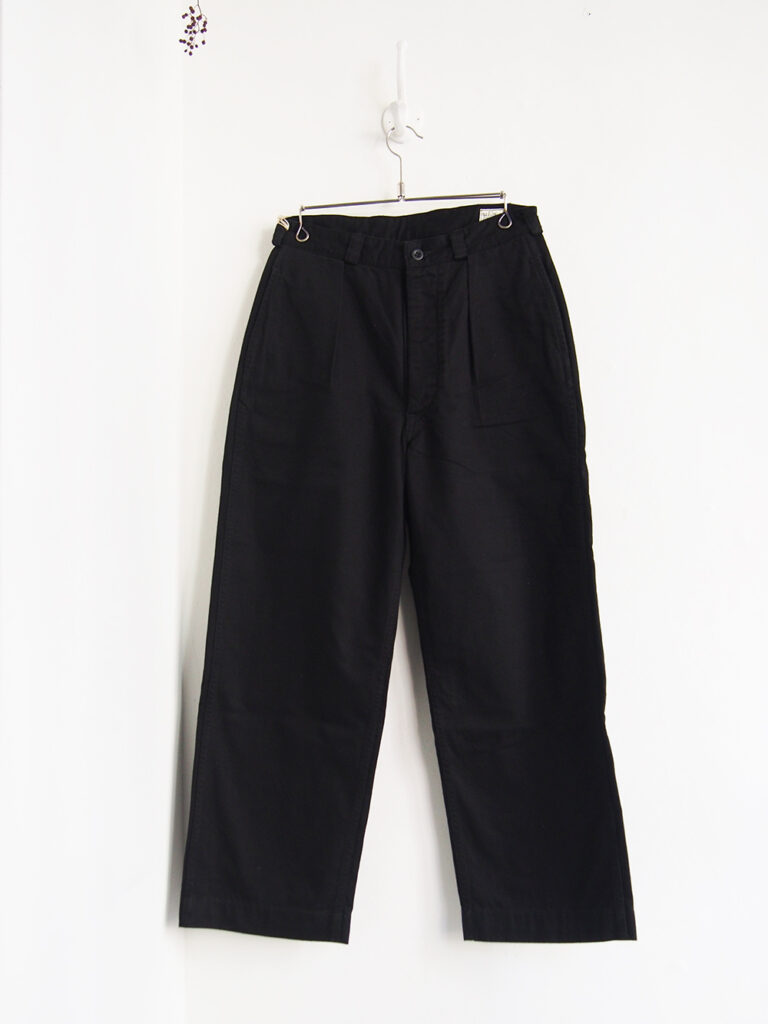 orSlow _  M-52 French Army Trouser / Black